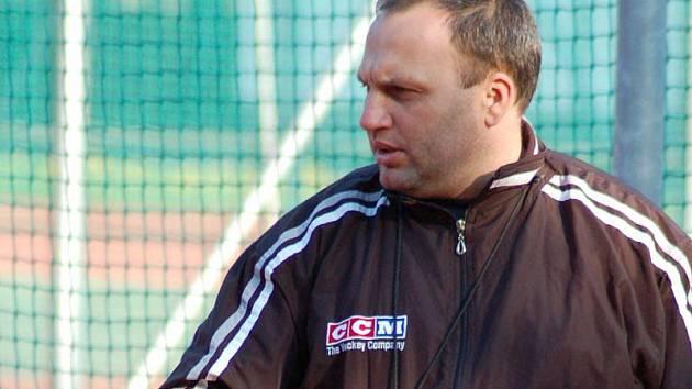 avel Sedlák, sportovní manažer HC ZUBR Přerov a trenér prvního týmu