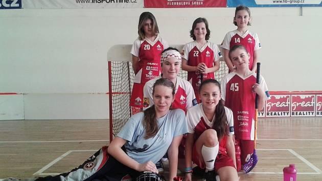 Florbalistky Teiwazu Hranice o víkendu na domácí půdě vybojovali v dalších z řady ligových turnajů Ligy mladších žákyň třetí místo.