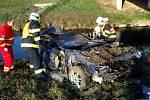 Tragická nehoda u Říkovic