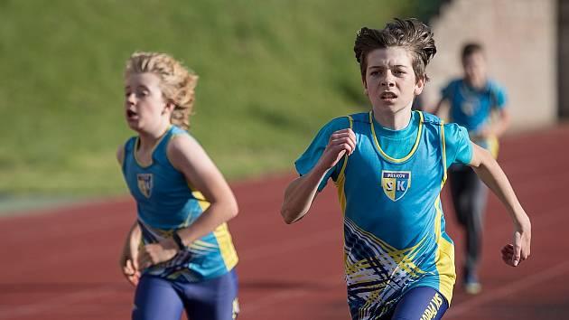 Atleti SK Přerov odstartovali sezonu oddílovými závody v rámci celorepublikové akce Spolu na startu.