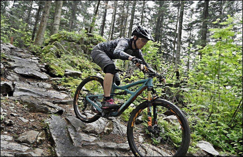 Zálibou přerovské fotografky Ivety Juchelkové je i sport - především cyklistika.