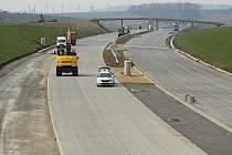 Stavba dálnice D1. Ilustrační foto