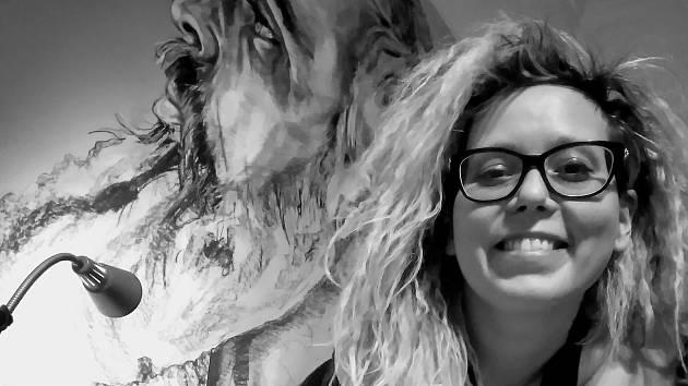 Přerovská rodačka Věrka Vybíralová, kterou proslavila rychlokresba, se teď věnuje monumentálním portrétům.