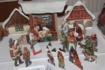Na dvě desítky betlémů přerovského sběratele Stanislava Dostála, ale také ukázku nejrůznějších technik zdobení mohli obdivovat lidé, kteří zavítali na výstavu Vánoční ladění do Žeravic u Přerova.