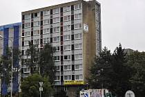 Ubytovna Chemik v ulici Velké Novosady v Přerově