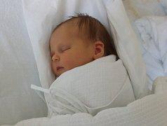 Antonie Kočajnarová, Rakov, narozena dne 25. dubna vPřerově, míra 49 cm, váha 3490 g