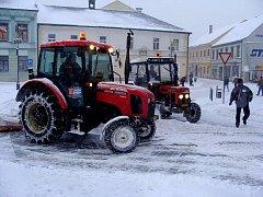 Sněhová nadílka v Přerově