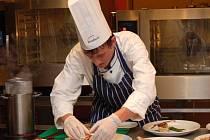 Soutěž Moravský kuchař v Gastrocentru Moravia