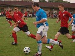 Želatovice proti rezervě HFK Olomouc