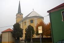 Kostel sv. Prokopa ve Vlkoši.