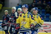Hokejisté Přerova porazili Chomutov i podruhé během dvou dnů. Matěj Svoboda