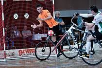 Přerovská sokolovna hostila MČR v sálové cyklistice juniorů 2019