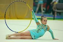 Moderní gymnastky přerovského Spartaku