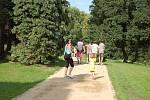 Zrekonstruovaný zámecký park ve Veselíčku