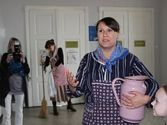 Výstava Z koupelen a ložnic v Muzeu Komenského v Přerově.