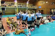 Mládežnický volejbalový turnaj v městské sportovní hale v Přerově