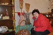 Tradiční velikonoční výstava se konala v neděli na zámku v Hustopečích nad Bečvou. Děti si mohly vyzkoušet uplést pomlázku, nazdobit velikonoční vajíčka, nebo obdivovat umění řezbářů.