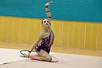 Přerovská moderní gymnastka Blanka Bořutová
