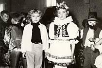 Dětský karneval v Radvanicích.
