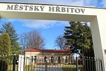 Brána hřbitova v Přerově
