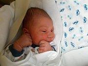 Patrik Stavař, Přerov, narozen dne 23. října 2016 v Přerově, míra: 52 cm, váha: 3740 g