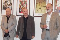 Výstava Ivana Mládka. Ilustrační foto.