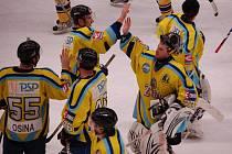 Přerovští hokejisté si poradili s Břeclaví 4:1.
