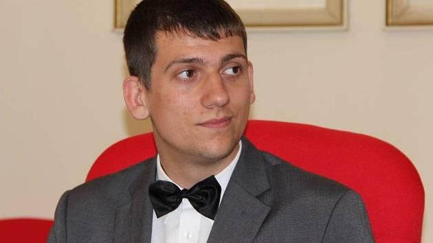 student Gymnázia Jana Blahoslava a Střední pedagogické školy v Přerově Tadeáš Kratochvíl obstál v konkurenci sto padesáti prací z celé republiky