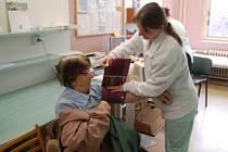 Vyšetření ledvin. Ilustrační snímek.