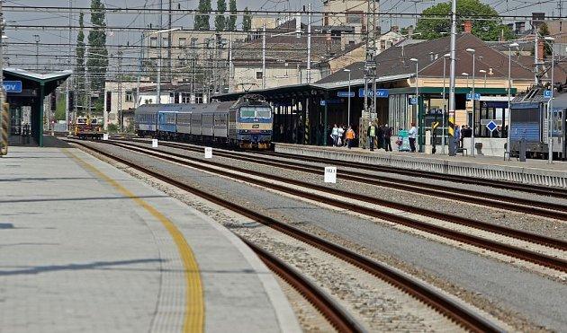 Zmodernizované nádraží vPřerově