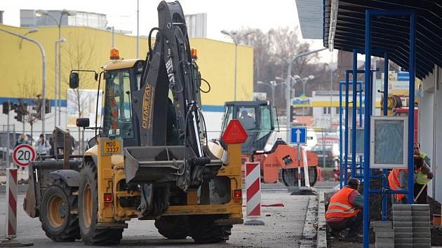 Rekonstrukce autobusového nádraží v Přerově