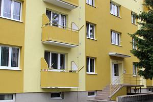 Panelový dům v Tovačově, ve kterém došlo k dvojnásobné vraždě