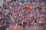Tisíce Přerovanů si nenechaly ujít tradiční koncert Pavla Nováka,
