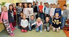 Základní škola Velká Dlážky, Přerov   1.A   Třídní učitelka:  Helena Sedláčková