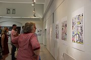 Známý český kreslíř komiksů a autor oblíbeného seriálu Zelený Raoul Štěpán Mareš výstavu svých prací v Galerii Konírna v Lipníku nad Bečvou