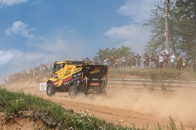 Akce Posedlí Dakarem v Přerově.