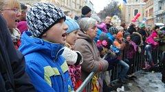 Vánoční koncert na přerovském náměstí TGM