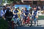 Závod mopedů a jim podobných hýblat v Radvanicích