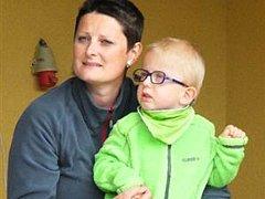 Malý Tobiášek se akce v minulém roce zůčastnil i se svojí maminkou