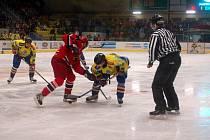 Přerovští hokejisté (ve žlutém). Ilustrační foto