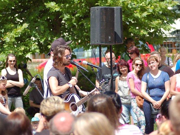 Hudební překvapení, kapela Kryštof zahrála v Přerově