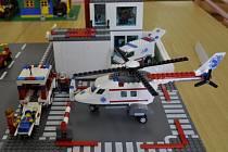 Na výstavě v Atlasu v Přerově jsou auta, lodě, vrtulníky i domy z Lega