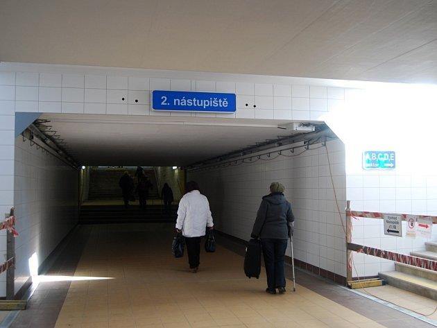 Podchod na přerovském nádraží