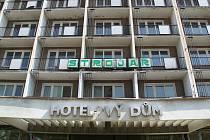 Bývalý hotel Strojař v Přerově, září 2021