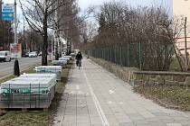 Opravy se letos dočká chodník v ulici bří Hovůrkových v Přerově