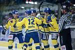 Hokejisté Přerova doma přehráli Chomutov 3:1.
