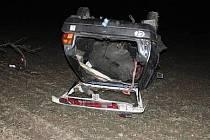 Nehoda opilého řidiče v Polkovicích