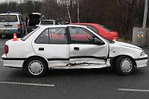 Nehoda opilé řidičky suzuki v Přerově - Předmostí