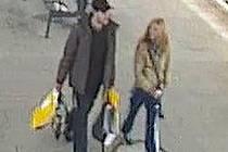 Policisté zajistili kamerové záznamy, na kterých jsou zachyceni muž a žena, kteří by mohli přispět k objasnění krádeže na přerovském nádraží