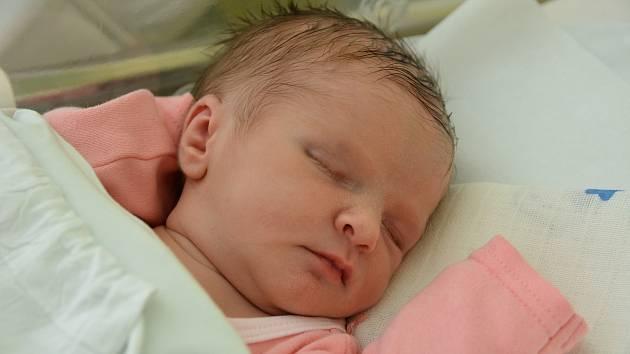 Eliška Blaťáková, narozena dne 25. července 2019 v Přerově, míra 47 cm, váha 2780 g
